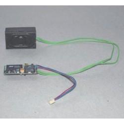 PIKO 56193, Sounddekoder + głośnik. Do serii BR 101, BR 185,... H0.