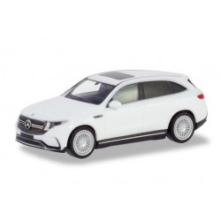 Herpa 420426, Mercedes-Benz EQC AMG, polar White, first electric SUV from Mercedes-Benz, skala H0