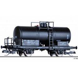 """Tillig 95851, Wagon cysterna Uh, PKP, """"Zabrze"""", ep.IV, skala TT (1:120)."""