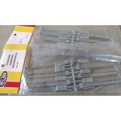 KS2271, Latarnie na słupach kratownicowych, 12 sztuk, atrapy, Heljan 513, skala H0 / TT