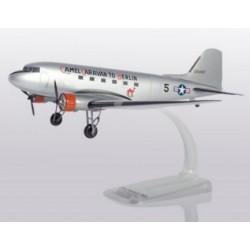 "Herpa 612302, U.S.Army Air Forces Douglas C-47A Skytrain ""Camel Caravan"" Berlin Airlift 70th Anniv.Edit. skala 1:100."