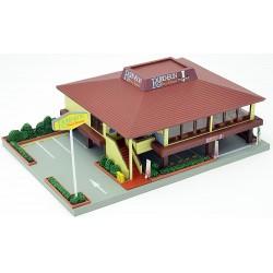 TOMYTEC 976603, Restauracja z parkingiem, skala N.