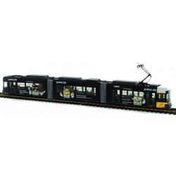 """Rietze STRA01007, Tramwaj Adtranz GT6 BVG Berlin """"Bergwerk Berlin"""", bez napędu, skala H0."""