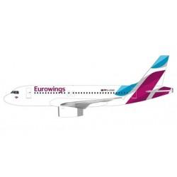 Herpa 612487, Eurowings Airbus A319, skala 1:200