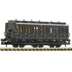 Fleischmann 807006, Wagon pasażerski C3 pr 11 (3 kl.) DRG, ep.II, skala N.