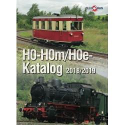 Tillig 95955, Katalog H0 - H0m - H0e, 2018-2019.