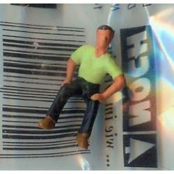 NOCH 116-027, osoba siedząca, mężczyzna, figurka, skala H0