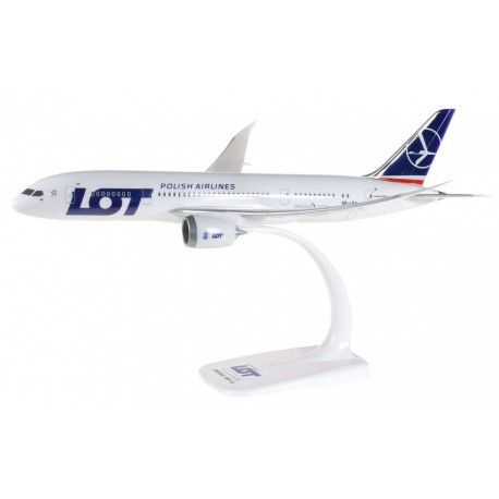 Herpa 609494, Boeing 787-8 Dreamliner LOT, 1:200