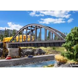 """Vollmer 42553, """"Stalowy"""" most łukowy, kolejowy, jednotorowy, skala H0."""