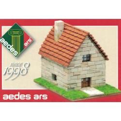 Aedes Ars 1998, Dom wiejski, skala ok. 1:100 (+/- H0).