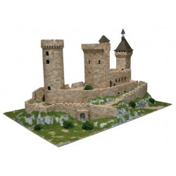 Aedes Ars 1010, Zamek Foix, skala 1:170 (N).
