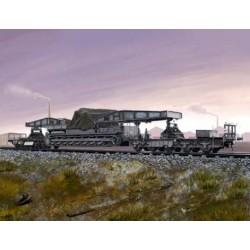 Hobby Boss 82906, Kolejowy transporter działa Karl-Geraet, skala 1:72.