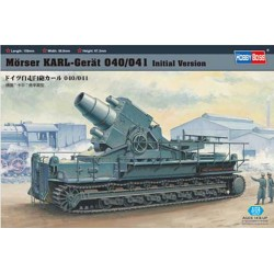 Hobby Boss 82904, Działo moździerzowe Morser Karl-Geraet 040/041, skala 1:72.