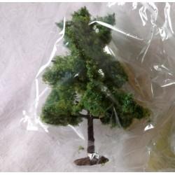 """NOCH 25963A, """"Drzewko liściaste"""", wysokość ok. 8 cm, 1 sztuka. H0-TT-N."""