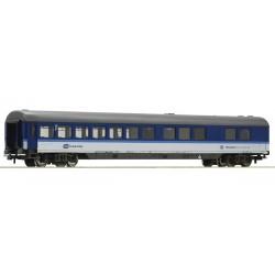 ROCO 54171, Wagon pasażerski WRmz, EC, restauracyjny, CD, ep.VI, skala H0.