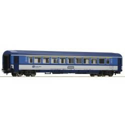 ROCO 54169, Wagon pasażerski Amz, EC, kl.1, CD, ep.VI, skala H0.