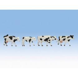 NOCH 17900, skala 0: krowy łaciate, zestaw figurek w skali 1:43 / 1:45.