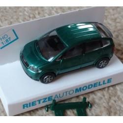 Rietze 21000 -3, Audi A2 metallic turquoise, skala H0.