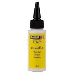 """Faller 171659. """"Wasser-Effekt"""", preparat do tworzenia efektów ruchomych zbiorników wodnych, fal, wodospadów... 60 ml."""