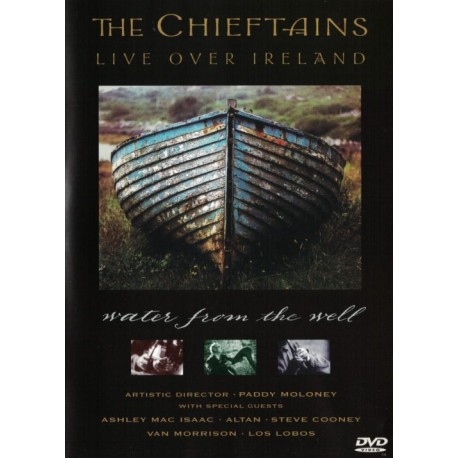 cloi. THE CHIEFTAINS - Live Over Ireland. DVD.