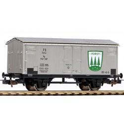 """PIKO 95351, Wagon towarowy kryty, chłodnia """"Forst Bier"""", FS, ep.III, skala H0."""