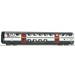 "Roco 74500, Wagon piętrowy, typ A ""IC 2000"" SBB ep.VI, skala H0."