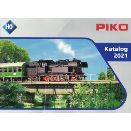 PIKO 99501 D, katalog 2021 - skala H0 - język niemiecki.