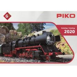 PIKO 99700-20, katalog skali G - 2020.