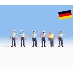 NOCH 36083, Policjanci drogówki (DE), zestaw figurek, skala N (1:160).