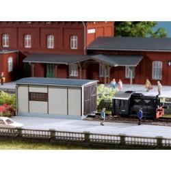 Auhagen 13333, Mała lokomotywownia, skala TT.