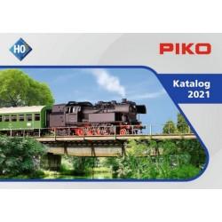 PIKO 99501 PL, katalog skali H0 - 2021 - język polski.