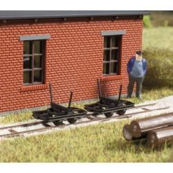 Auhagen 41707, Trzy wagony kłonicowe do zest. 41700