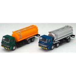TOMYTEC 975342, Zestaw: dwie ciężarówki-cysterny, skala N (1:150/1:160).
