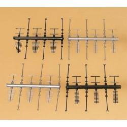 Auhagen 42653 - Anteny - zestaw (H0 / TT)