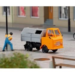 Auhagen 43671, Multicar M22, śmieciarka, skala TT.