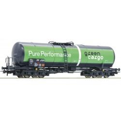 "ROCO 76698, Wagon cysterna Zacns ""Green Cargo"", ep.VI, skala H0."