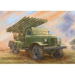 Trumpeter 01075. Wyrzutnia rakiet BM-13 NM Katiusza (PL) Skala 1:35.