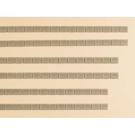 Auhagen 48577, Zwieńczenia murów.