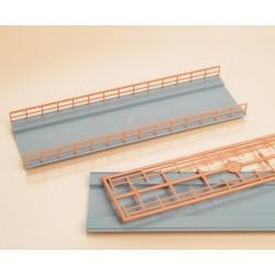 Auhagen 48596, Dwa elementy mostu, skala H0 (TT)
