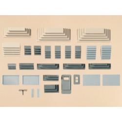 Auhagen 48646, Schody, zestaw, skala H0 (TT)