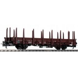 TRIX 5530. Wagon platforma z kłonicami, Rlmms 58, DB, ep. III-IV, skala H0.