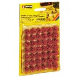 Noch 07042, Kępy czerwonych kwiatów polnych, XL, 42 szt. 9 mm.