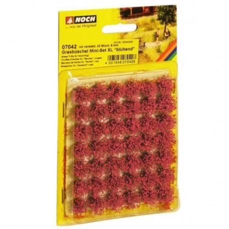 Noch 07041, Kępy roślin polnych, XL, 42 szt. 9 mm.