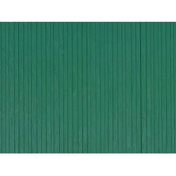 Auhagen 52419, Ściana drewniana zielona.