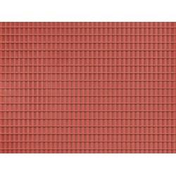 Auhagen 52425, Dach czerwony, dekor.
