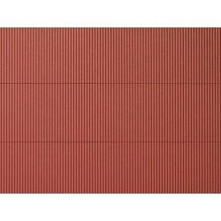 Auhagen 52430, Blacha falista czerwona.