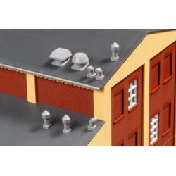 Auhagen 80103, Wywietrzniki dachowe, skala H0.