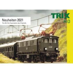 txh0 2021, Katalog TRIX Neuheiten 2021.