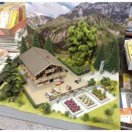 Noch 71208. Wakacje w górach - makieta, gotowa diorama tematyczna. Skala H0.