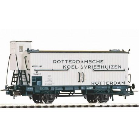 Piko 58930, Wagon towarowy kryty z budką hamulcowego, NS, ep.III, skala H0.